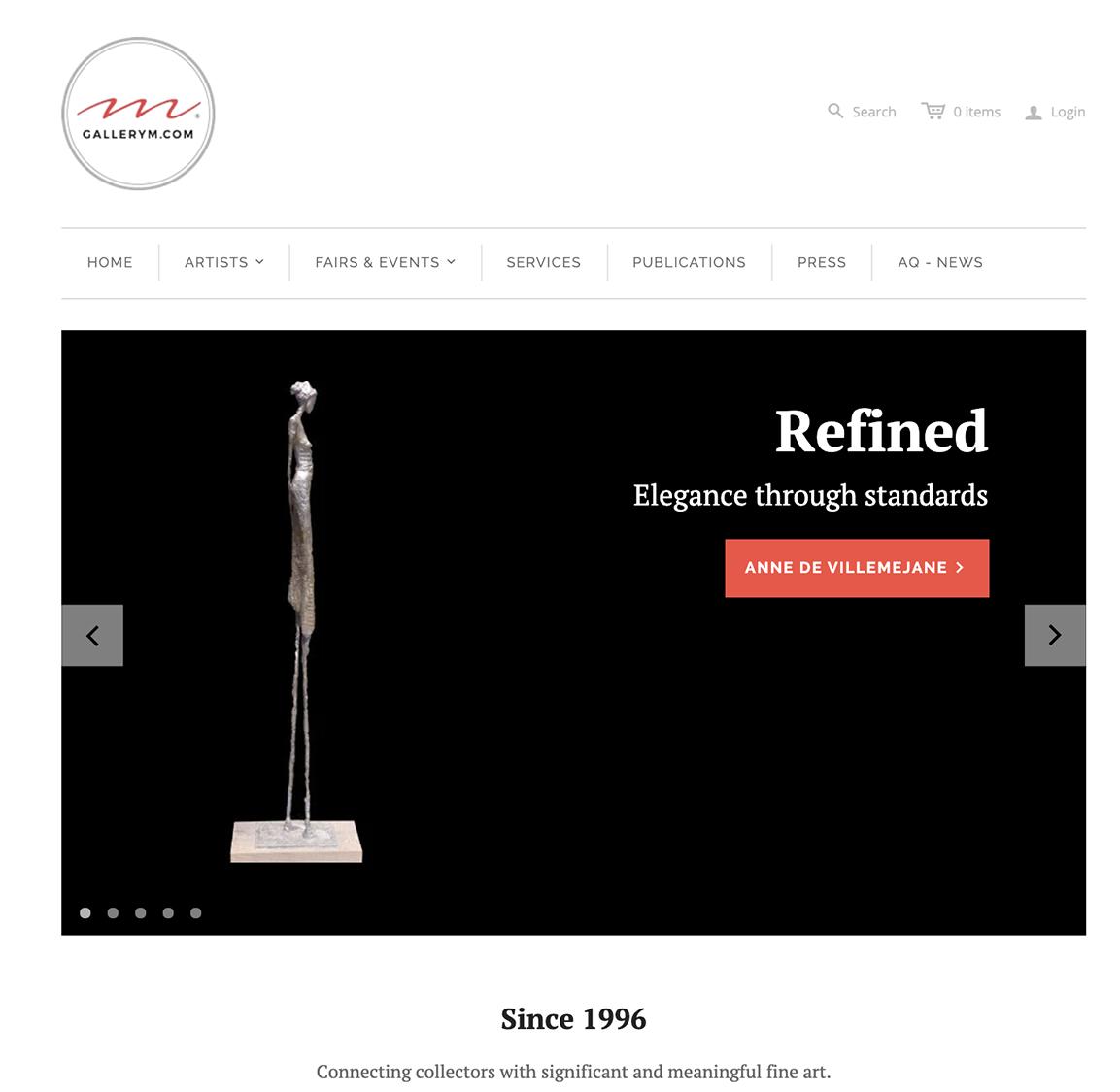 GALLERY M website